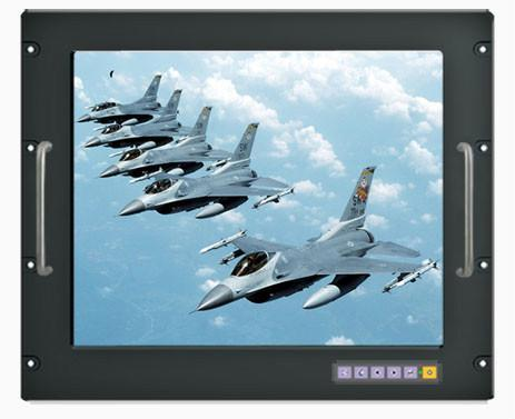 19 Inch Ruggedized Rack Mount Lcd Monitor Rgrm 19