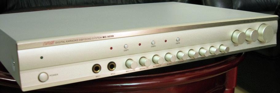 专业卡拉OK混响器-+MC-905D+-+LRS+(中国广高钙灰图片