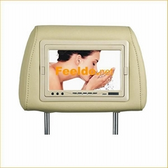 7 inch stand alone & headrest TFT LCD monitor