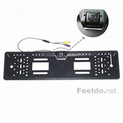 170 degree Night Version License plate frame camera
