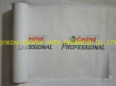 PAPER CAR FLOOR MATS IN SHEETS OR ROLL