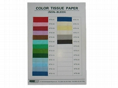NON BLEED COLOR TISSUE P