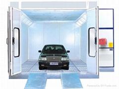 Spray booth-Autmobile type(WS-5000)