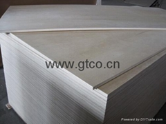 Birch Faced Poplar Core Plywood