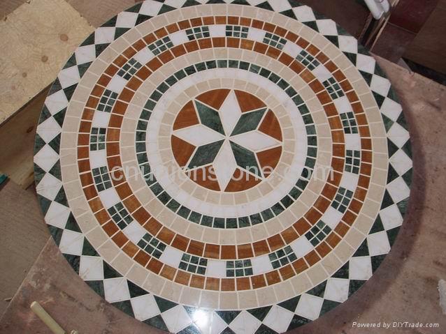 Marble Mosaics Pattern | Marble Medallions | Flooring Mosaic Tiles