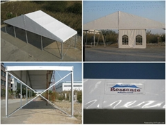 Aluminum profile tent