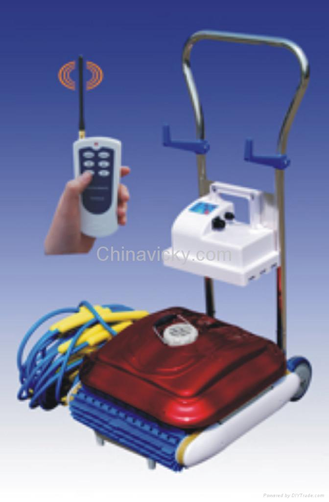 Pool cleaner robot hj2010 grampus china manufacturer for Pool equipment manufacturers