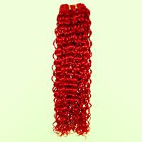 selling 100% human hair water curl weaving