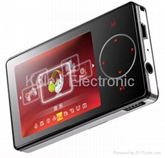 "Touch Screen 2.4"" Mp4 player (RoHS/Sisvel)"