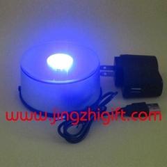 USB連接線LED旋轉展示台