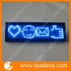 LED name message support Thai language