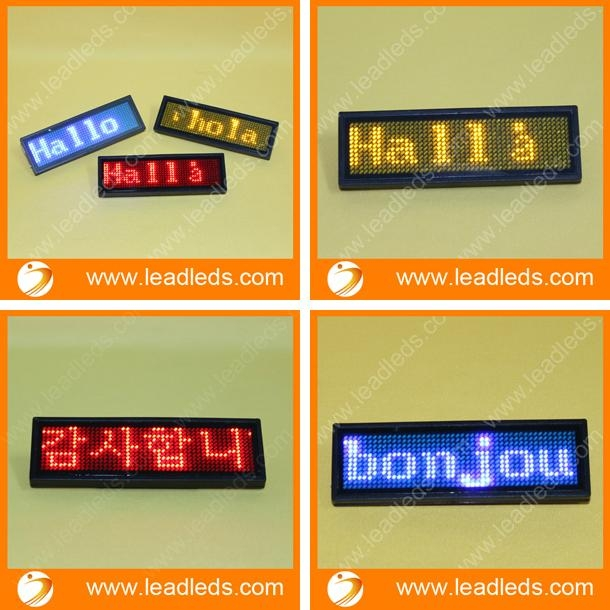 LED name message support Thai language 2