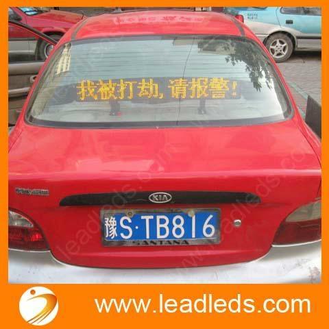Shenzhen factory high brightness LED bus display  2
