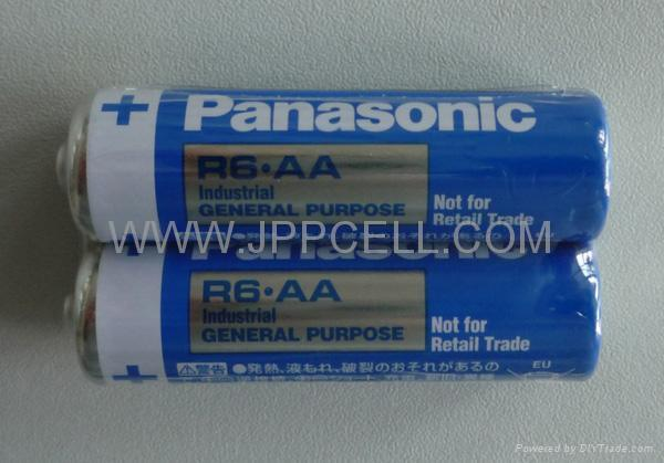 Panasonic AA battery,dry battery(SGS approved) - AA/R6