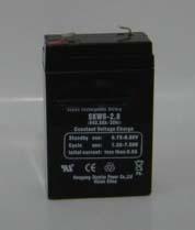 Sealed lead acid battery 6V2.8AH