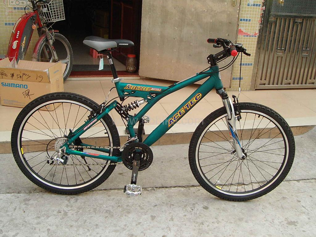 Aluminium Full Suspension Bicycle 1
