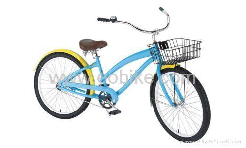 Beach Cruiser Bike 1