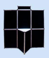 folded panel