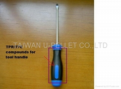 TPR/TPE compounds for tool handle