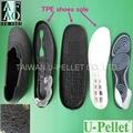 TPR granules for shoe soles