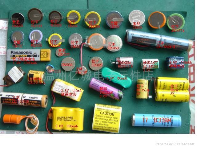 锂电池,镍氢电池,镍镉电池;图片