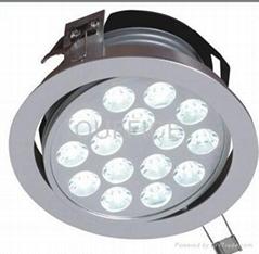 Pure aluminum downlight