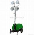 Mobile light tower 1