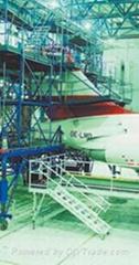 飛機維修架