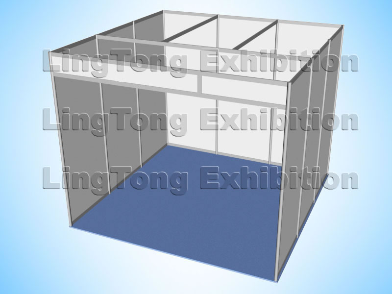 Exhibition Shell Scheme Manufacturers : Shell scheme booth display stall koisk ltx004 lingtong china