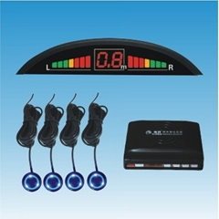 Parking sensor with 4 luminous sensors