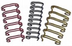double-loop wire binding