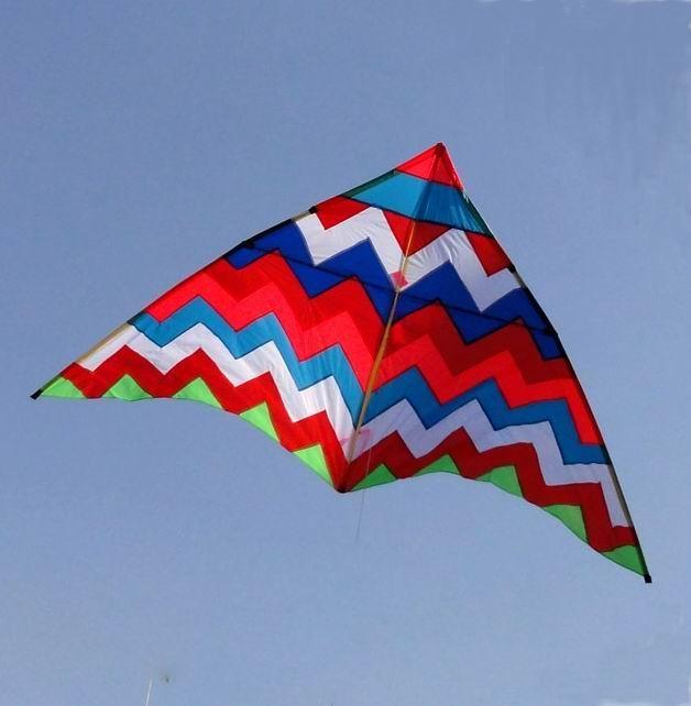 波浪三角风筝图片