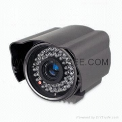 Weather-proof CCD Camera with 30 pcs LED and 40 Meters IR Distance