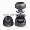 Color Vandal/Tamper Resistance Waterproof IR/Day and Night Dome Zoom CCD