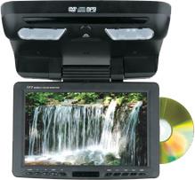9.2寸吸頂式車載DVD播放器兼顯示器(帶電視接收功能)