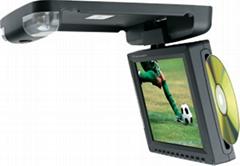 8寸吸顶式车载DVD播放器兼显示屏  (带电视接收功能)
