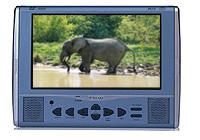 7寸吸入式车载DVD显示屏 (带电视接收功能)