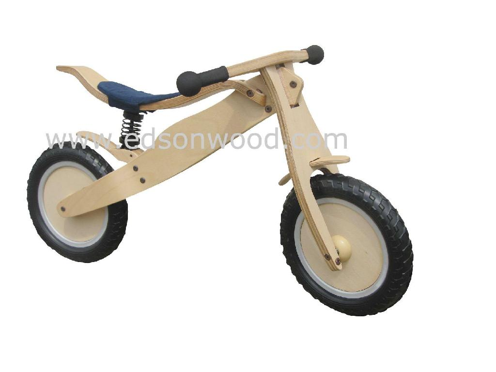 wooden training bike 2