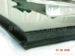 雙面保護膜無膠偏光片