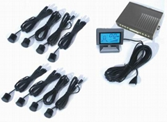 LCD Car Parking Sensor System(HX240)