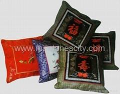 hand-made cushion