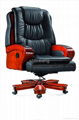 实木大班椅.顺邦大班椅、最舒适