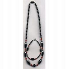 Magnetic hematite jewelry