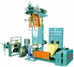 Model SJHL Series High-Low Pressure PE Dual-purpose Film-blowing Machine Set