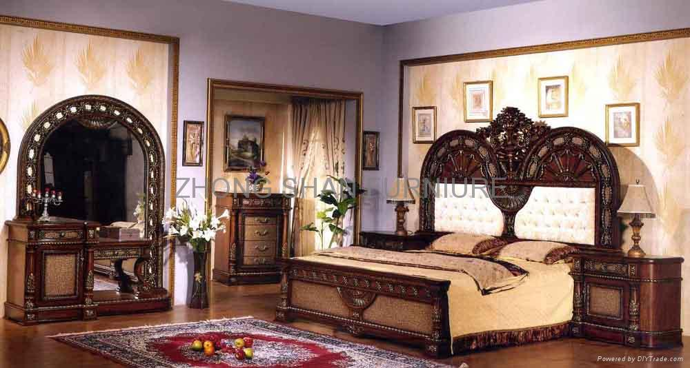 820 Classical Bedroom Sets Yi Xiang China Manufacturer