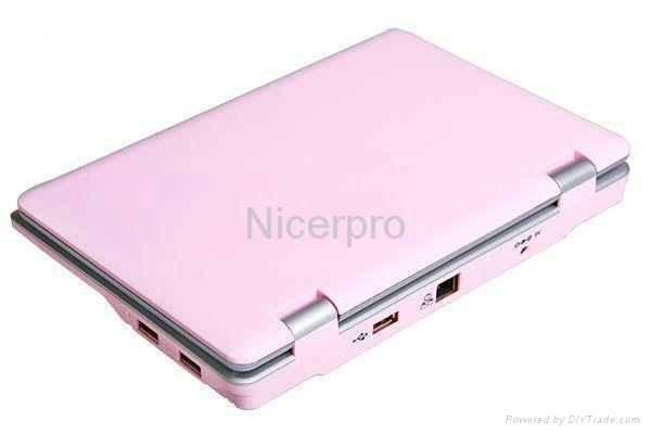 Netbook 7 inch/ Mini Laptop 7inch with RoHs CE Certificates Window CE6.0 4
