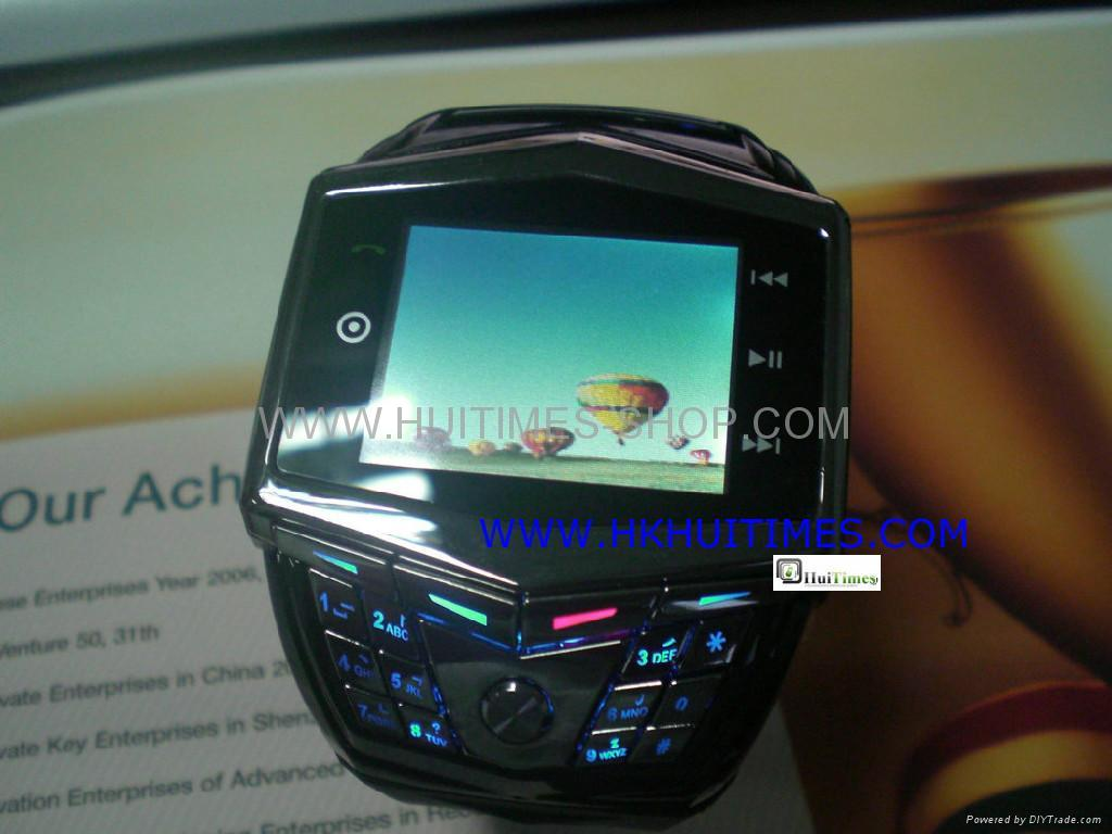 DWN GD910 Watch mobile phone quad band touch screen bluetooth headset