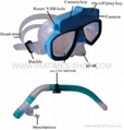 Underwater Scuba Mask Diving Digital Camera (4GB) With 30M Water Resistant