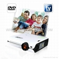 Multimedia Projector with DVD Player TV  HDMI