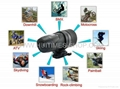 Waterproof Action Camera Sport Video Helmet Camera 100%quality assurance